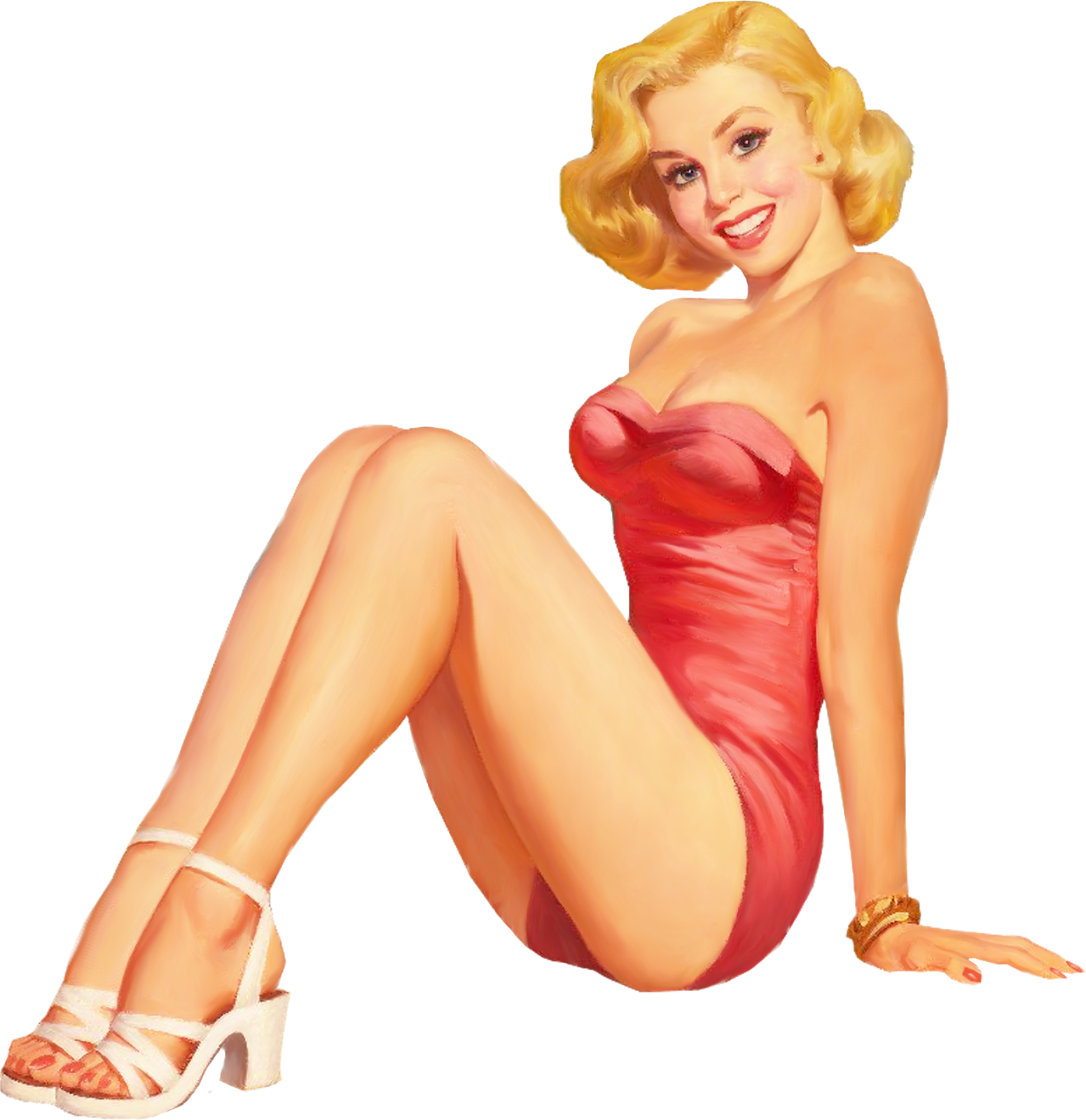 Sensualwoman PIN-UP GIRLS custom pic 2