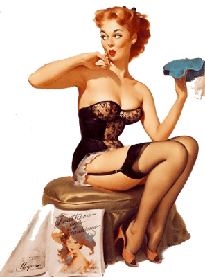 Sensualwoman PIN-UP GIRLS custom pic 6
