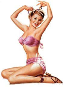 Sensualwoman PIN-UP GIRLS custom pic 1
