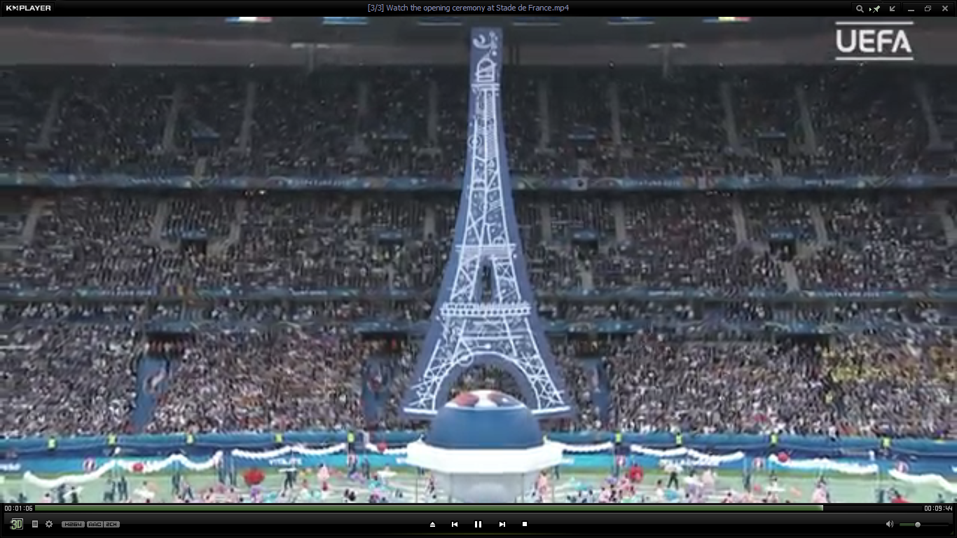 1DiamondAngel THE BEST OPENING CEREMONY STADE DE FRANCE MERCI custom pic 1