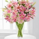 Big bouquet of lilies