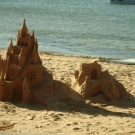 CASTLE IN THE SAND ...