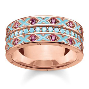 THOMAS SABO GLAM & SOUL  RING ASIAN ORNAMENTS
