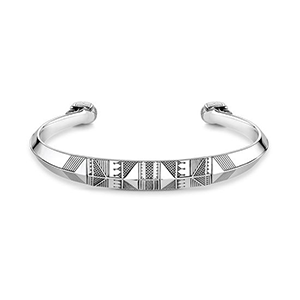 THOMAS SABO BANGLE ETHNIC SKULL
