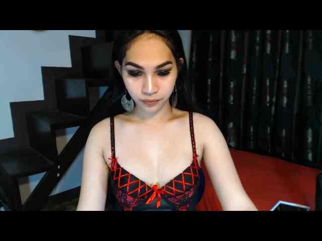 Sexy čierna shemale sex